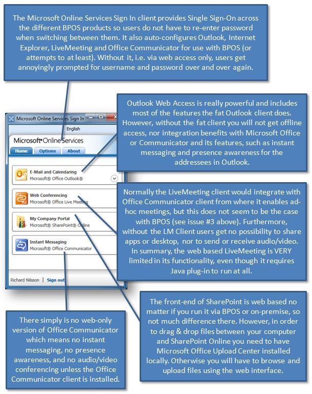 The User Experience of moving to BPOS « Comment Page 1